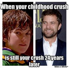 Joshua Jackson - For all you Charlie Conway fans. jjh