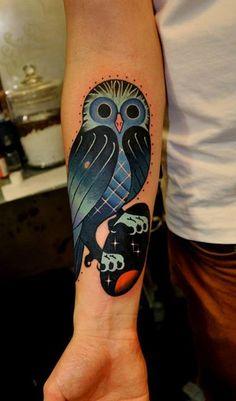 Querendo muito uma coruja!