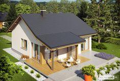 Projekat. Kuća Elmo V ENERGO 76.81 m² | KucaSnova.com