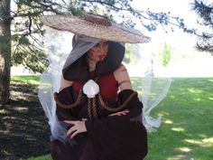 Cosplay - Katara as The Painted Lady.. AMAZING!