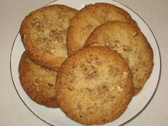 Walnut Cookies - Walnut Biscuits - Eggless Cookies | Simple Indian Recipes