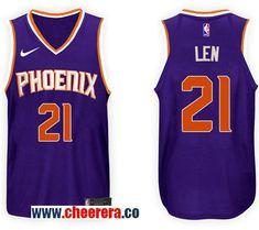 064065116 Men s Nike NBA Phoenix Suns  21 Alex Len Jersey 2017-18 New Season Purple  Jersey