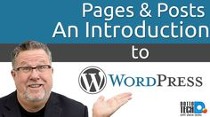 Wordpress - An Intro