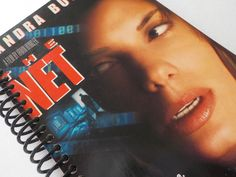 VHS Notebook 4.00 X 7.50 90 pages VHS Video Box by LeeEmporium