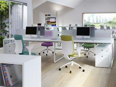 Workstation desk with drawers FRAMEWORK 2.0 | Office desk - FANTONI SPA