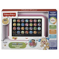Fisher Price Laugh And Learn Smart Stages Tablet Pink