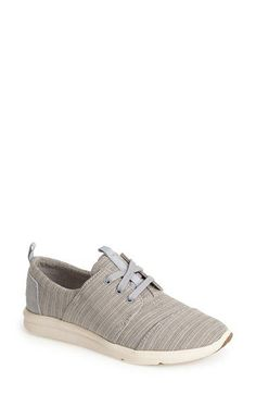 Free shipping and returns on TOMS 'Del Rey' Sneaker (Women) at Nordstrom.com. A signature stitched toe defines a breezy canvas sneaker set on a sturdy rubber sole.<br><br>Since Blake Mycoskie started TOMS in 2006, the company has given away 10 million shoes to children in need across the globe through sales of their now-iconic shoes and their innovative 1-for-1 donation program. Cheap Toms Shoes, Toms Shoes Outlet, Uggs Outlet, Nike Tights, Nike Boots, Toms Outfits, Kobe Shoes, Women's Shoes, Boots