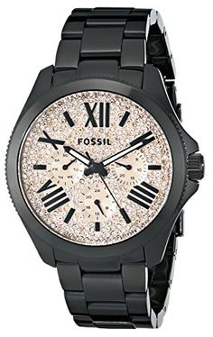 Fossil Women's AM4593 Cecile Multifunction Stainless Steel Watch - Black with Pave Glitz Dial Fossil http://www.amazon.com/dp/B00LO8Y0LM/ref=cm_sw_r_pi_dp_cNNDub1668R1G