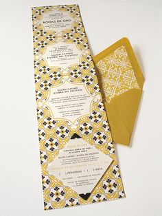 mexican tile-inspired anniversary invitation « Lizzy B Loves