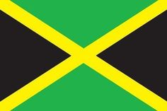 Jamaica flag which my grandmother and granddad are from