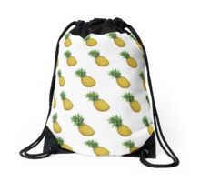 pineapple emoji Drawstring Bag