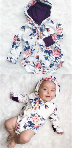 Hoodies for a BABY?! How stinking cute is this??!!!! I'll take 10 please. (aff)