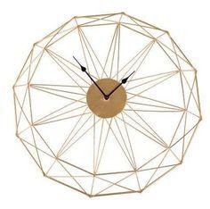 """15"""" Metal Clock"""