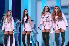 Little Mix performing at The X Factor UK finals- 11/12/ 2016