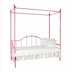 LOLA BEDROOM  Bunny Iron Canopy Daybed