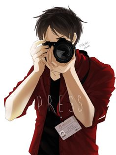 I could see Eren as a journalist. One of those super annoying and persistent…