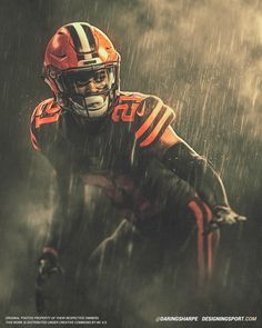 Daring Boy Interactive is the sports art and design studio of Matt Sharpe, proudly based in beautiful Guelph, Canada. Cleveland Browns Wallpaper, Cleveland Browns History, Cleveland Browns Football, Cleveland Rocks, Team Pictures, Football Pictures, Football Art, Alabama Football, Football Posters