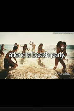 If I get invited ... or I'll just crash that Damn  party!