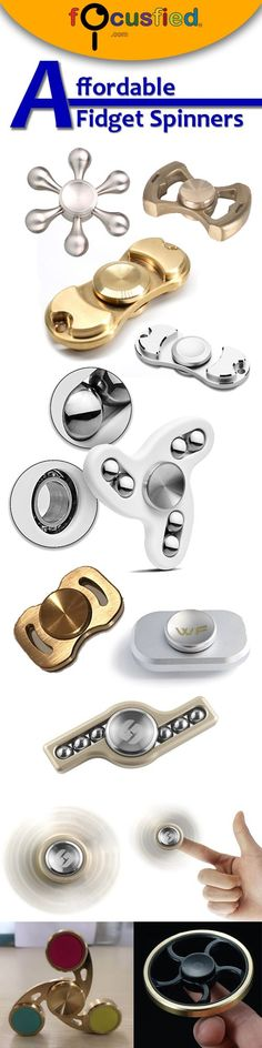 27 affordable budget Fidget Toys and spinners under $20