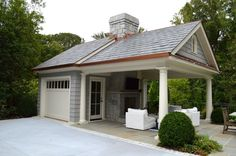 Carport garage, detached garage plans, garage house, garage shop, carport p Plan Garage, Carport Garage, Garage Workbench, Garage Ideas, Garage Doors, Garage Paint, Carport Patio, Carport Ideas, Detached Garage Designs