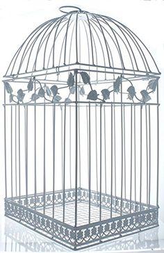 Fun Express White Birdcage Wedding Gift Card Holder Fun E. Wishing Wells For Sale, Card Box Wedding, Wedding Gifts, Wedding Albums, Wedding Things, Birdcage Card Holders, Wishing Well Wedding, Recycle Your Wedding, Fun Express