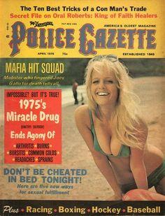The National Police Gazette April 1975