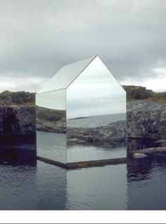 The Mirror House | by Ekkehard Altenburger | a temporary (1996) installation on the Isle of Tyree in Scotland