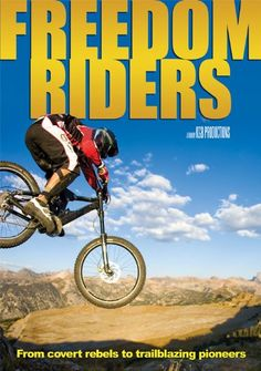 Freedom Riders is a story of a small, core group of riders who evolved from the covert building of rough and unsustainable trails, to the creation of a precedent-setting relationship with the Forest Service and the building some of the best freeride trails in the country. Welcome to Freedom Riders, a look at the evolution of mountain biking and the progression of trail building in the USA.