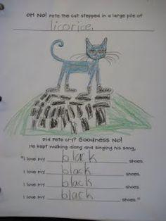 Finally in First: Pete the Cat Class Book Idea