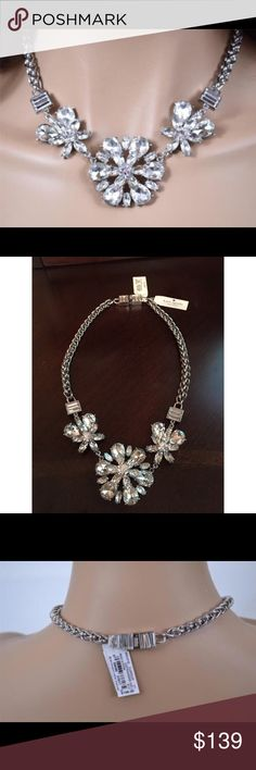 Kate Spade Electric Gardens Rhinestone Necklace Kate Spade Electric Gardens Rhinestone Necklace  Brand new with tag and stunning!! 😃  FEATURES:  Sparkling Rhinestone Flowers Tongue & Groove Closure Silver Tone Chain Kate Spade Engraved Closure Condition: New with Tags kate spade Jewelry Necklaces