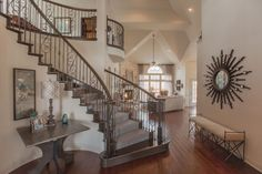 Founded with over 45 years of history in residential building and development, First Texas Homes has been building quality homes in Texas for over a quarter century. Texas Homes, New Homes, Dream Homes, My Dream Home, Texas Home Decor, Elegant Living Room, Kitchen Rustic, Grand Homes, Home Photo
