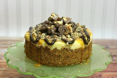 Crazy for Cookies and more: Crock Pot Turtle Cheesecake