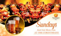 Sundays have always been treated with special love and care at The Corinthians Resort and Club. Now, the ante is being upped with finer cuisine, swing to the beats of a live music, cooler cocktails and freshly brewed craft beer that will thrill the connoisseur in you. Rates – INR 1299 AI (Unlimited F&B) & INR 799 AI(Unlimited Food + 01 Drink)