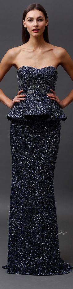 Badgley Mischka Pre-Fall 2015 Fashion Show Couture Fashion, Runway Fashion, Fashion Show, Fashion Design, Ny Fashion, Fashion Brands, High Fashion, Traje A Rigor, Vestidos Fashion