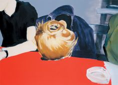 Miltos Manetas, PATIENTS (Paulina sleeping), 1999, Oil on Canvas, Courtesy Private Collection, Brazil