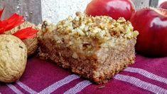 Šťavnatý jablkový koláč s drvenými orechmi (fotorecept) - Recept