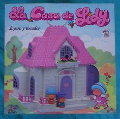 Vintage Lidy House La casa de Lidy Flick juguetes del
