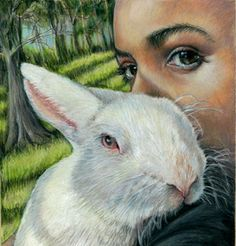 Art Classes and Camps Vibrant Portraiture LisArts Lis Zadravec American Library Association, Color Pencil Art, Artist Names, Colored Pencils, My Arts, Rabbit, Animals, Hare, Exhibit