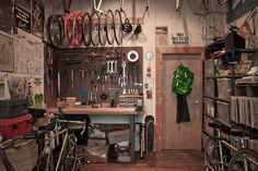 workspaces - Cicli Devotion's Brooklyn Workshop   via