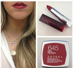 Maybelline Red Revival
