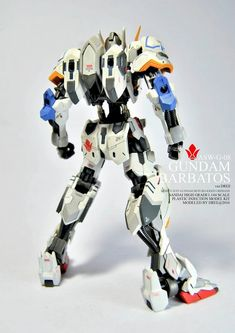 Custom Build: HG 1/144 Gundam Barbatos ver. Dree by Adree Adrean - Gundam Kits Collection News and Reviews