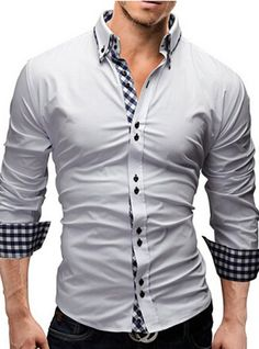 If you are in the market for brand new men's fashion suits, there are a lot of things that you will want to keep in mind to choose the right suits for yourself. Below, we will be going over some of the key tips for buying the best men's fashion suits. New Mens Fashion, Mens Fashion Suits, Fashion Vintage, Cheap Fashion, Mens Suits, Stylish Shirts, Fall Shirts, Work Casual, Formal Casual
