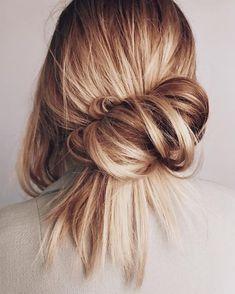 43 Ideas for hair 2018 trends caramel Bob Hair, Hair Dos, Hair 2018, Bun Hairstyles, School Hairstyles, Black Hairstyles, Wedding Hairstyles, Quinceanera Hairstyles, American Hairstyles
