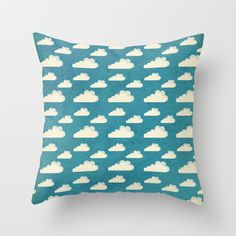 Clouds Throw Pillow by Matthew Taylor Wilson - $20.00
