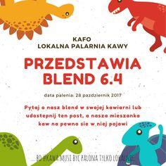 ... bo #kawa musi być palona tylko lokalnie.      #KAFO data palenia: 28 październik 2017 (blend 6.4)