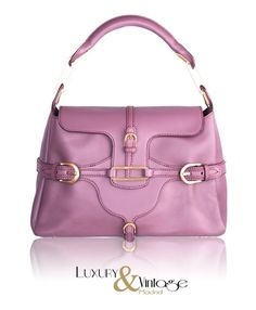 Jimmy Choo Purple Leather Tulita satchel Tote Bag Handbag Excellent Condition!! #JimmyChoo #TotesShoppers