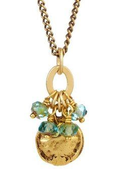 Medallion  Czech Glass Necklace