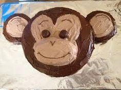 Image result for monkey cake