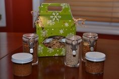 Homemade Spice Rub Gifts