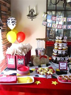 toy story woody cowboy birthday party - Google Search